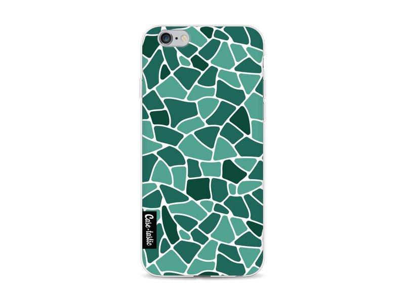 Casetastic Softcover Apple iPhone 6 / 6s - Aqua Mosaic