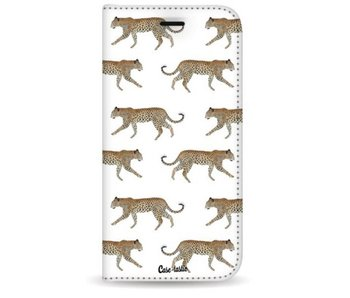 Hunting Leopard - Wallet Case White Apple iPhone 7 Plus / 8 Plus