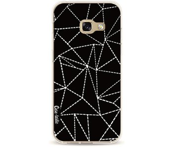Abstract Dotted Lines Black - Samsung Galaxy A3 (2017)