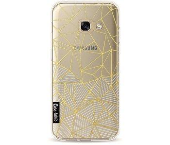 Abstraction Half Half Transparent - Samsung Galaxy A3 (2017)