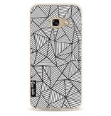 Casetastic Softcover Samsung Galaxy A3 (2017) - Abstraction Lines