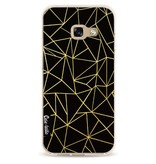 Casetastic Softcover Samsung Galaxy A3 (2017) - Abstraction Outline Gold