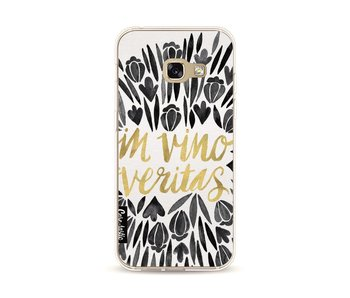 Black Vino Veritas Artprint - Samsung Galaxy A3 (2017)