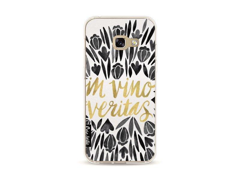 Casetastic Softcover Samsung Galaxy A3 (2017) - Black Vino Veritas Artprint