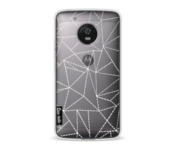 Abstract Dotted Lines Transparent - Motorola Moto G5