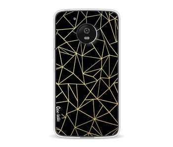 Abstraction Outline Gold - Motorola Moto G5