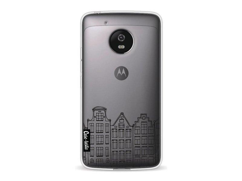 Casetastic Softcover Motorola Moto G5 - Amsterdam Canal Houses