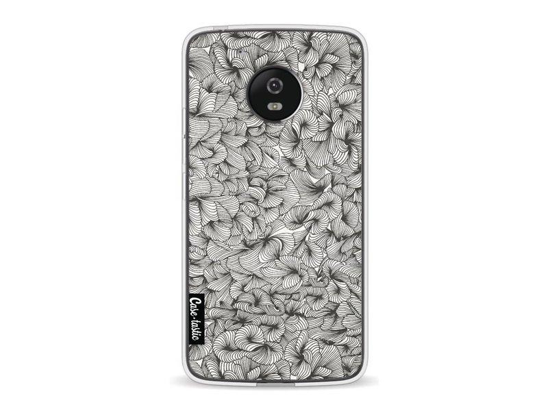 Casetastic Softcover Motorola Moto G5 - Abstract Pattern Black