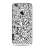 Casetastic Softcover Huawei P8 Lite (2017) - Abstraction Lines
