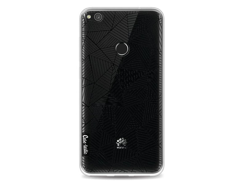 Casetastic Softcover Huawei P8 Lite (2017) - Abstraction Lines Transparent