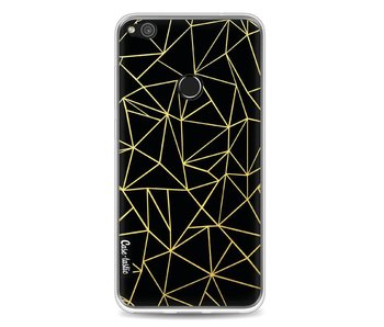 Abstraction Outline Gold - Huawei P8 Lite (2017)