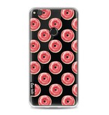 Casetastic Softcover Huawei P8 Lite (2017) - All The Donuts