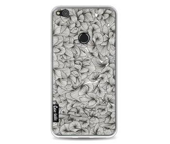 Abstract Pattern Black - Huawei P8 Lite (2017)