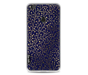 Berry Branches Navy Gold - Huawei P8 Lite (2017)