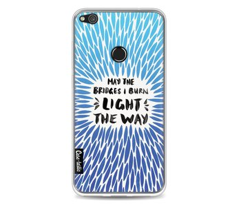 Blue Bridges Burn Burst Artprint - Huawei P8 Lite (2017)