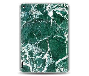 Dark Green Marble - Apple iPad 9.7 2017 / 2018