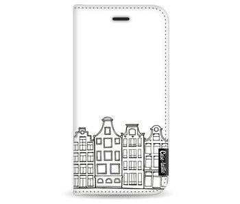 Amsterdam Canal Houses - Wallet Case White Apple iPhone 7 / 8
