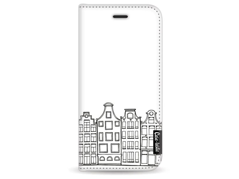 Casetastic Wallet Case White Apple iPhone 7 / 8 - Amsterdam Canal Houses