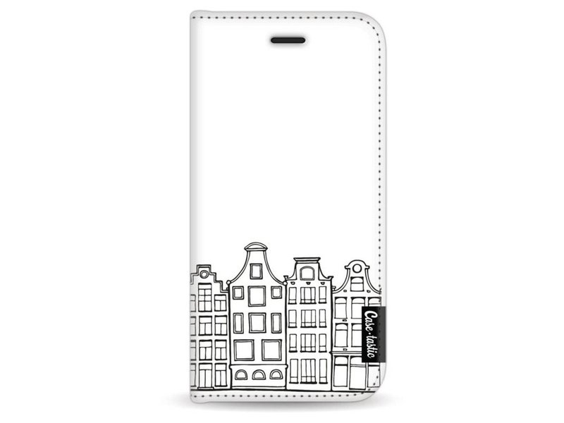 Casetastic Wallet Case White Apple iPhone 6 / 6S - Amsterdam Canal Houses
