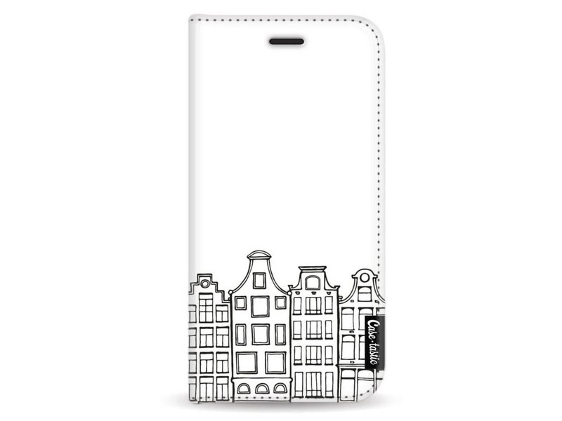 Casetastic Wallet Case White Samsung Galaxy A5 (2017) - Amsterdam Canal Houses