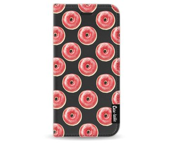 All The Donuts - Wallet Case Black Apple iPhone 6