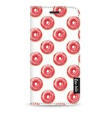 Casetastic Wallet Case White Apple iPhone 5 / 5s / SE - All The Donuts