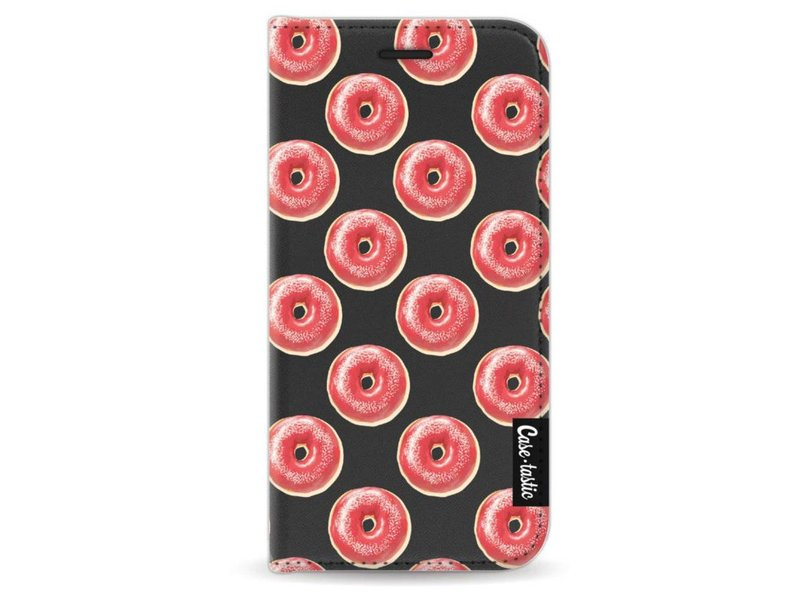 Casetastic Wallet Case Black Apple iPhone 5 / 5s / SE - All The Donuts