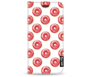 All The Donuts - Wallet Case White Samsung Galaxy A3 (2017)