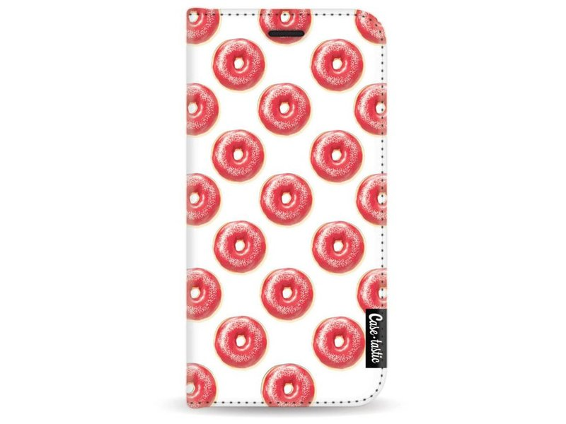 Casetastic Wallet Case White Samsung Galaxy A3 (2017) - All The Donuts