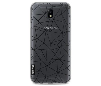 Abstraction Outline Black Transparent - Samsung Galaxy J7 (2017)