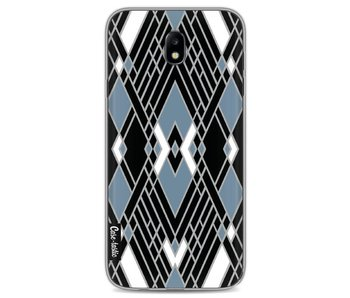 Art Deco Blue - Samsung Galaxy J7 (2017)