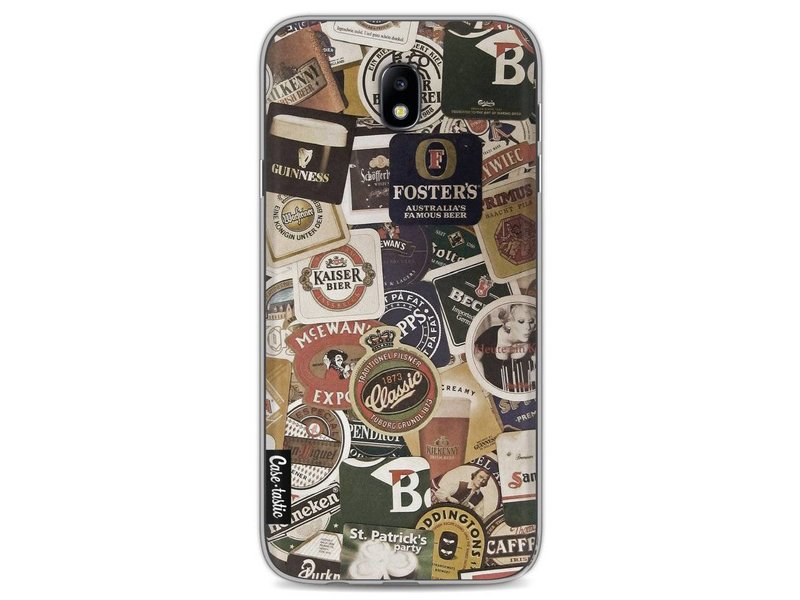 Casetastic Softcover Samsung Galaxy J7 (2017) - Beers of the world