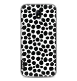 Casetastic Softcover Samsung Galaxy J7 (2017) - Black Dotted