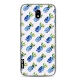Casetastic Softcover Samsung Galaxy J7 (2017) - Blue Pineapples