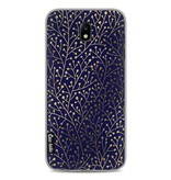 Casetastic Softcover Samsung Galaxy J7 (2017) - Berry Branches Navy Gold
