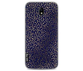 Berry Branches Navy Gold - Samsung Galaxy J7 (2017)