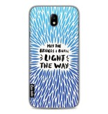 Casetastic Softcover Samsung Galaxy J7 (2017) - Blue Bridges Burn Burst Artprint