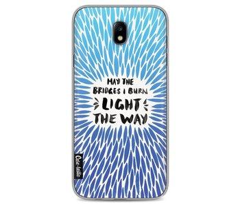 Blue Bridges Burn Burst Artprint - Samsung Galaxy J7 (2017)