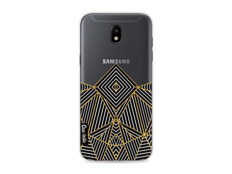 Casetastic Softcover Samsung Galaxy J5 (2017) - Abstraction Half Transparent