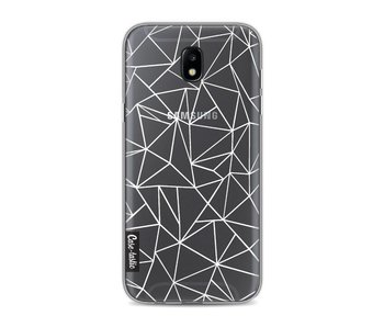 Abstraction Outline White Transparent - Samsung Galaxy J5 (2017)