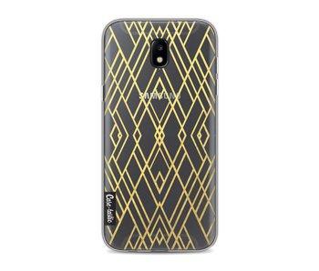 Art Deco Gold Transparent - Samsung Galaxy J5 (2017)