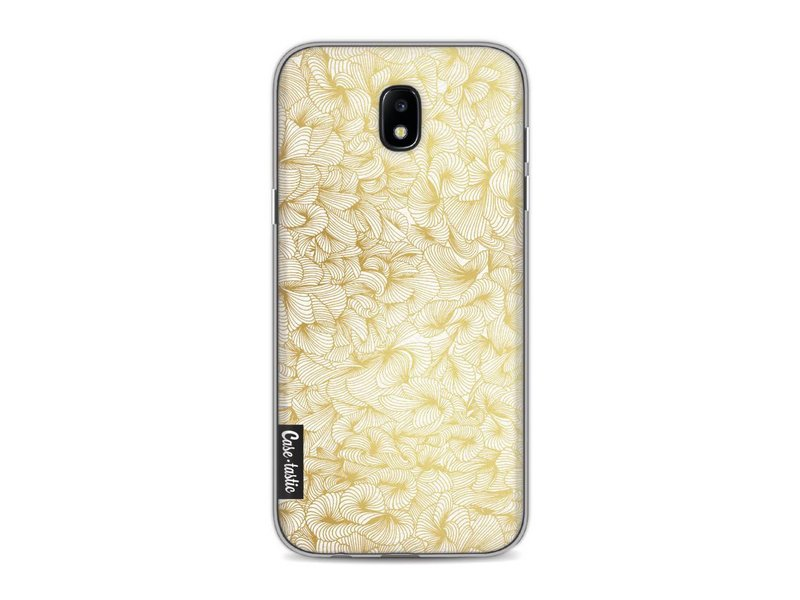 Casetastic Softcover Samsung Galaxy J5 (2017) - Abstract Pattern Gold