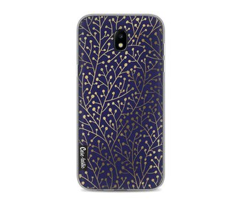 Berry Branches Navy Gold - Samsung Galaxy J5 (2017)