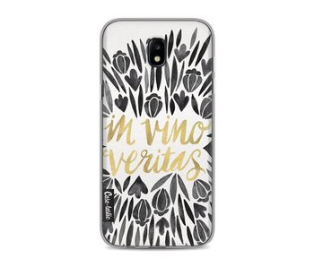 Black Vino Veritas Artprint - Samsung Galaxy J5 (2017)