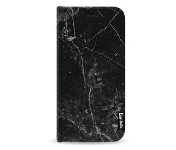 Black Marble - Wallet Case Black Samsung Galaxy A5 (2017)