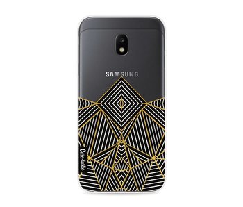 Abstraction Half Transparent - Samsung Galaxy J3 (2017)