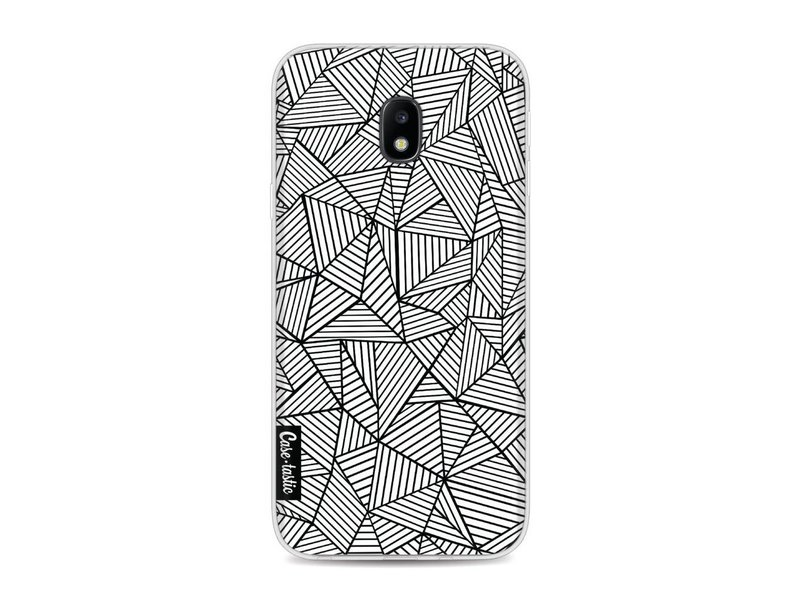 Casetastic Softcover Samsung Galaxy J3 (2017)  - Abstraction Lines