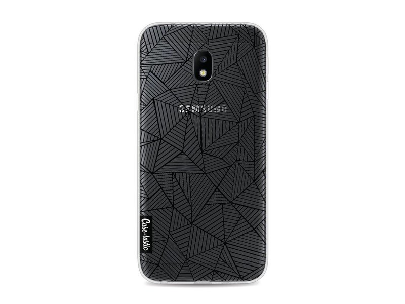 Casetastic Softcover Samsung Galaxy J3 (2017)  - Abstraction Lines Transparent