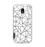 Casetastic Softcover Samsung Galaxy J3 (2017)  - Abstraction Outline