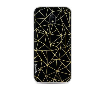 Abstraction Outline Gold - Samsung Galaxy J3 (2017)